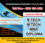 BHUBANESWAR ENGINEERING COLLEGE (BEC)