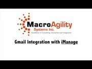 iManage Work integration partner - MacroAgility Systems